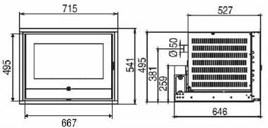 Misure-Caminetto-pellet-thermorossi-insert-line-490-1