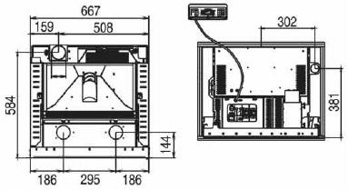 Misure-Caminetto-pellet-thermorossi-insert-line-490-2