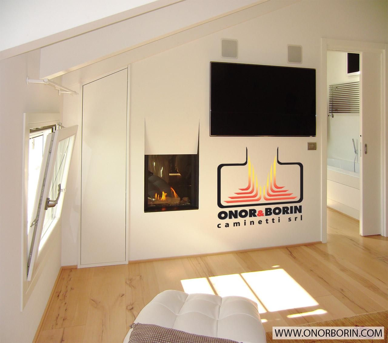 Eccezionale Caminetti a gas in camera da letto - Onor & Borin BB05