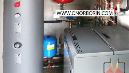 Risparmiare riscaldamento a gasolio con una caldaia a pellet