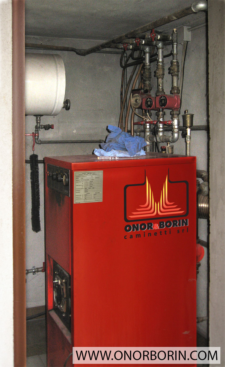 Risparmiare Riscaldamento Gasolio Con Caldaia A Pellet Onor E Borin