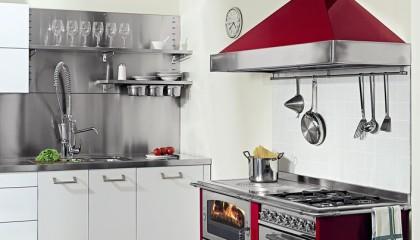 Cucina economica a legna De Manincor DOMINO 80-60 MAXI