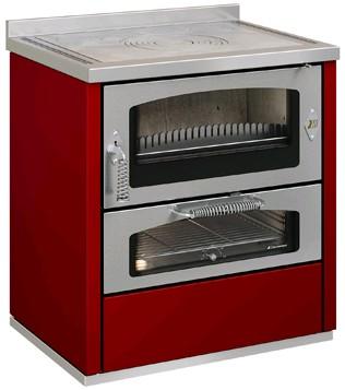 Cucina economica a legna De Manincor DOMINO 80-60 MAXI - Onor e Borin