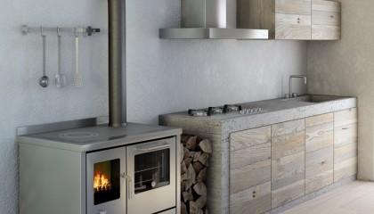 Cucina economica a legna De Manincor ECO 90-80-60