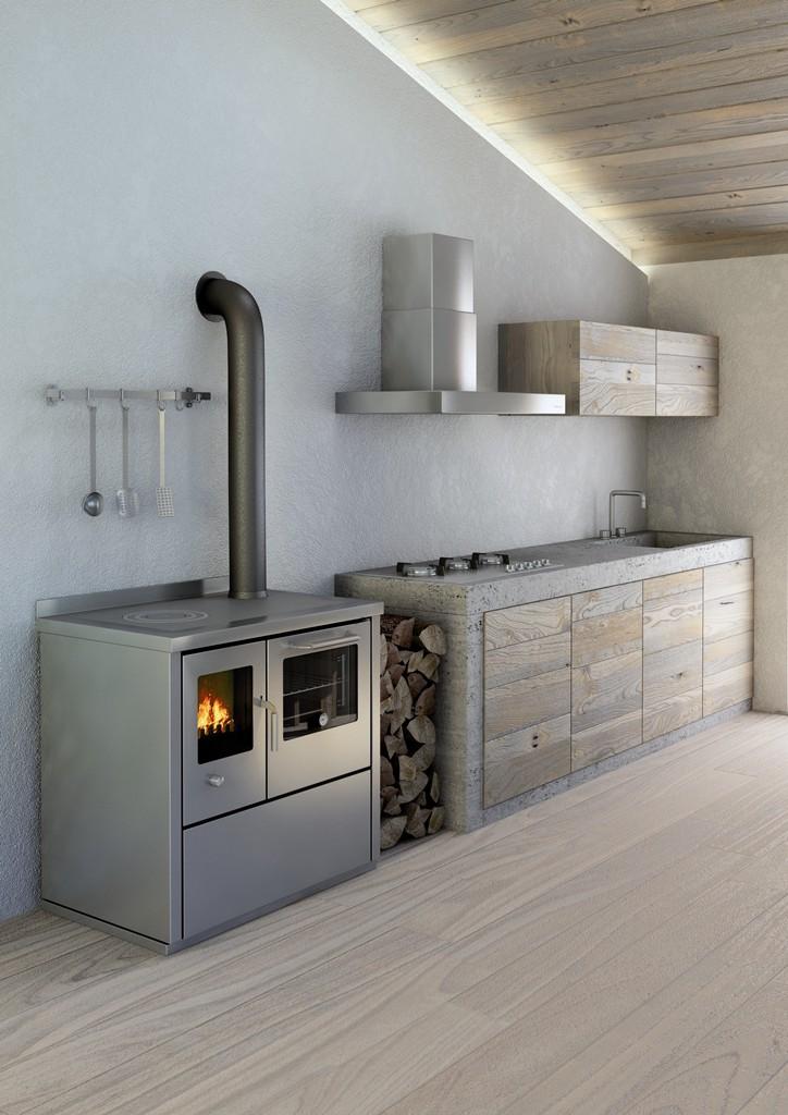 Cucina economica a legna De Manincor linea ECO - Onor e Borin