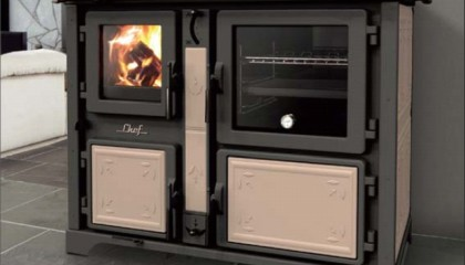 Cucina economica a legna Thermorossi Bosky Chef F25-30
