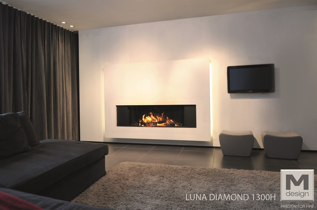 Caminetti M Design Diamond Horizontal - Onor e Borin