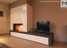 Caminetti a legna M Design Diamond Horizontal