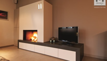 Caminetti M design Luna Diamond Horizontal