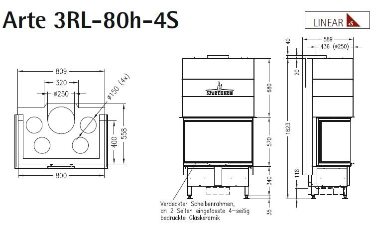 Caminetto-legna-Spartherm-Arte-3RL-80h-dimensioni