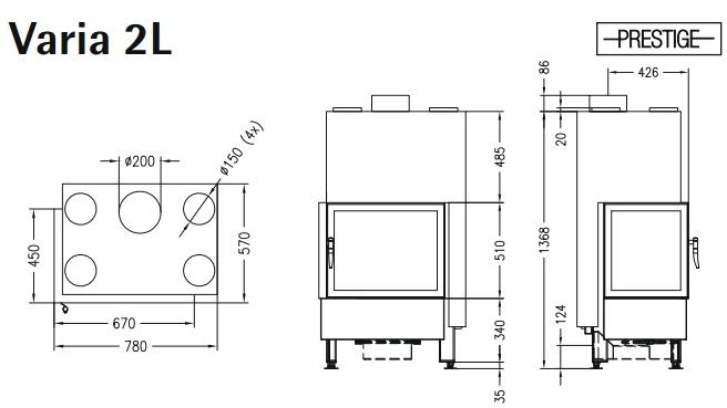 Caminetto-legna-Spartherm-Varia-2L-dimensioni