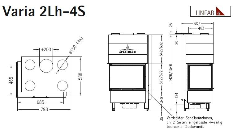 Caminetto-legna-Spartherm-Varia-2Lh-dimensioni