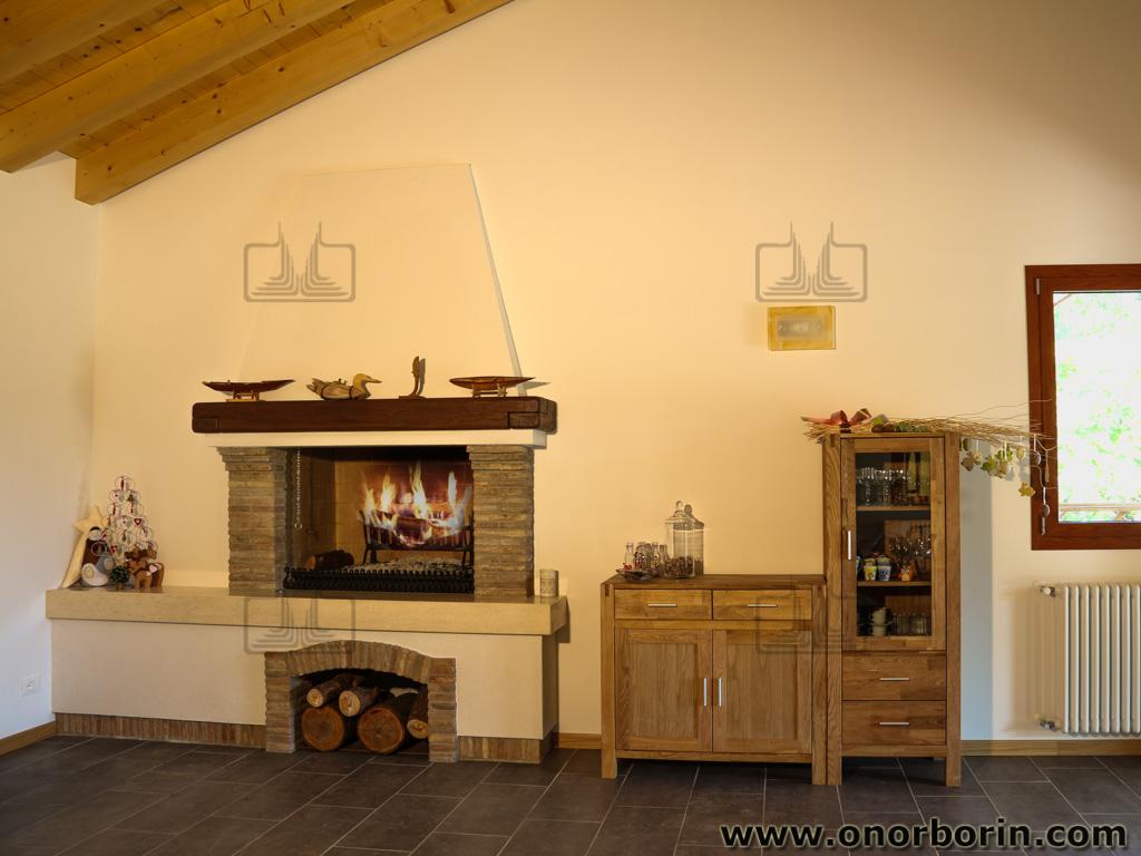 Caminetti taverna venezia - Onor e Borin
