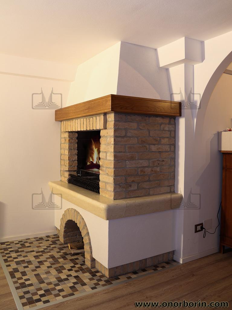 Caminetti per cucinare Treviso - Onor e Borin