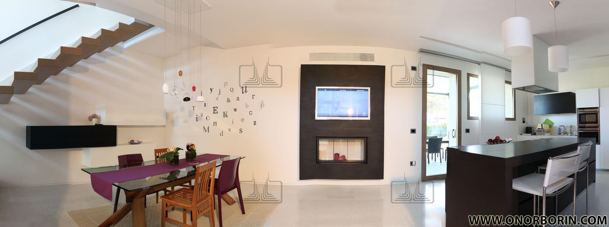 Caminetto Moderno Archivi - Onor&Borin