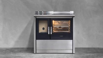 Cucina a pellet con forno JCorradi Neos