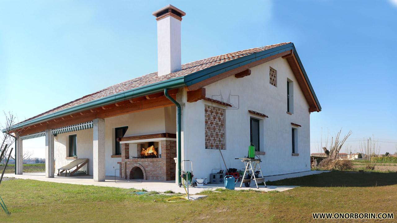 Connu caminetti barbecue muratura - Onor e Borin AZ65