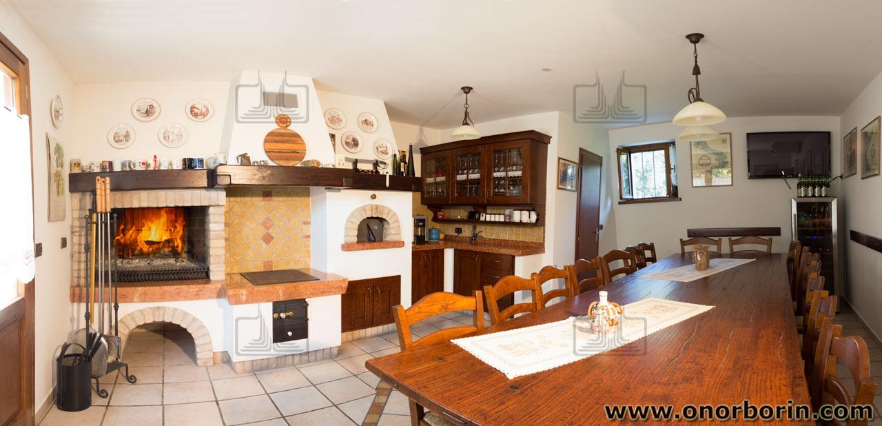 Cucina Economica A Legna In Muratura.Spolert A Legna Friuli Onor E Borin
